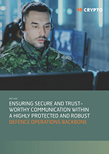Ensuring secure and trustworthy communication within a highly protected and robust defence operations backbone.